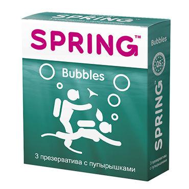 Spring Bubbles Презервативы с пупырышками гель для интимной стимуляции острый перчик 30мл