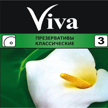 Viva Классические Презервативы классические f мини вибраторы для точки g материал термопластичная резина