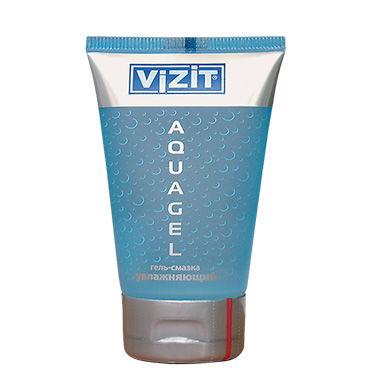 Vizit Aquа, 100 мл Прозрачный увлажняющий лубрикант vizit overture aroma презервативы цветные ароматизированные