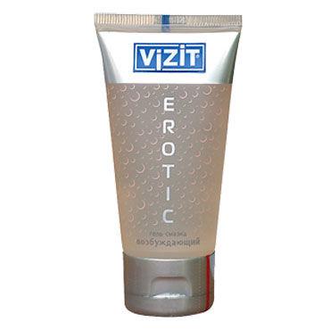 Vizit Erotic, 60 мл Лубрикант с возбуждающим эффектом vizit overture aroma презервативы цветные ароматизированные
