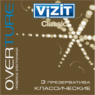 Vizit Overture Classic Презервативы классические ouch reversible collar with wrist
