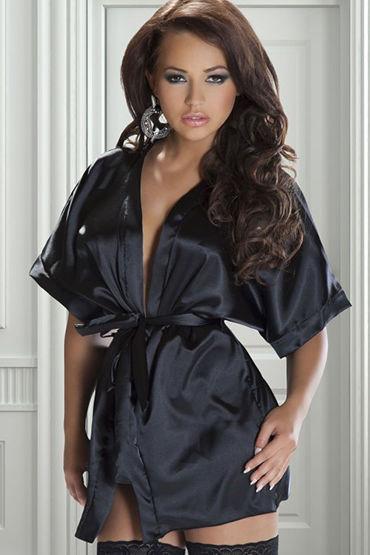 Avanua Rashida Сексуальный халатик и трусики ошейник с шипами широкий белый