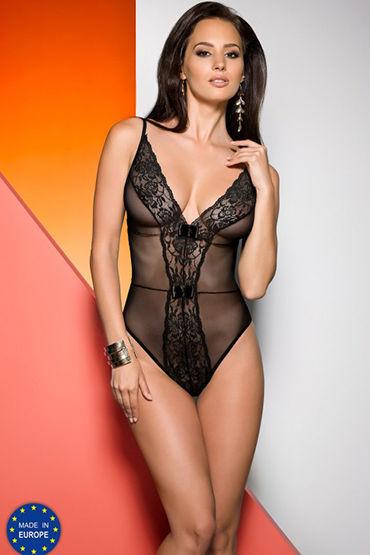 Avanua Jovita Body Black С кружевным орнаментом livco corsetti handcuff model 1 красно черные манжеты из натуральной кожи