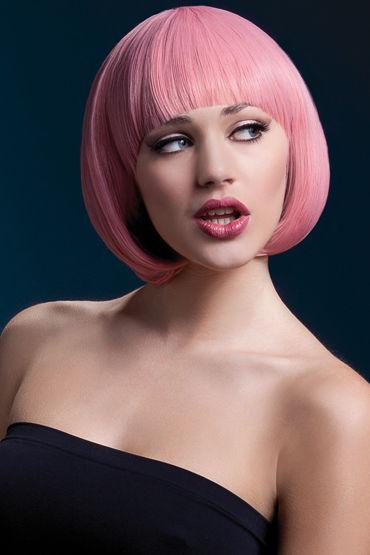 F ever Mia Wig Pastel Pink Парик, стрижка боб и steph wig темно русый с мелированием