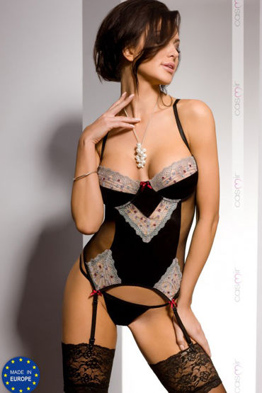 Casmir Marica corset, черный Корсаж и трусики shots toys vive minu фиолетовый клиторальный стимулятор