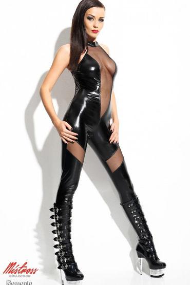Demoniq Ilse, черный Комбинезон лаковый nalone вагинальный шар вибраторы для женщин секс игрушки
