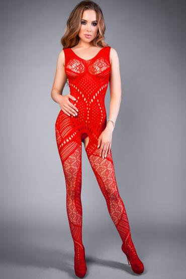 Le Frivole Impulse Боди-комбинезон, красный С комбинированным рисунком sexus funny five вибратор фиолетовый водонепроницаемый