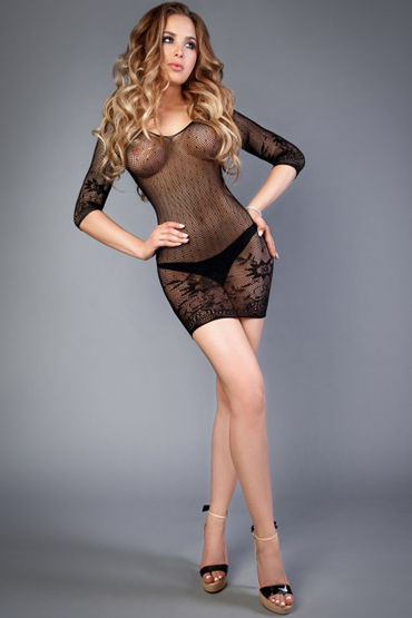 Le Frivole Impulse Платье, черное С цветочным рисунком т ду frivole платье с вырезами