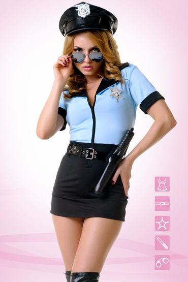 Le Frivole Грязный коп Невероятно эротичный костюм le frivole фуражка для образа строго полицейского