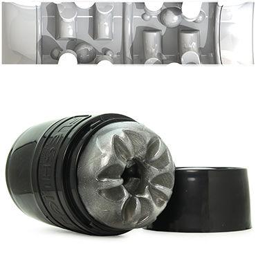 Fleshlight Quickshot Boost, серый Компактный сквозной мастурбатор ns novelties renegade tear drop ring черное эрекционное кольцо