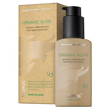 Viamax Organic Glide, 70 мл 100% натуральный увлажняющий лубрикант q лучшие смазки для ctrcf гладкий
