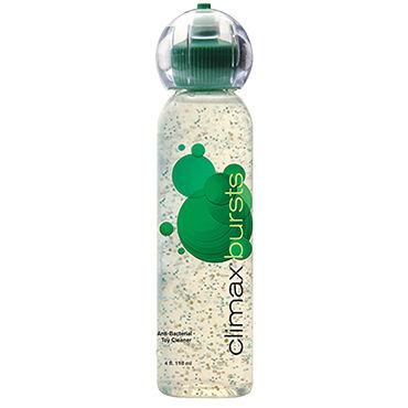 Topco Climax Bursts Antibacterial Toy Cleaner, 118 мл Антибактериальное средство для чистки игрушек с витамином E shots toys vive enoki фиолетовый вибратор необычной формы