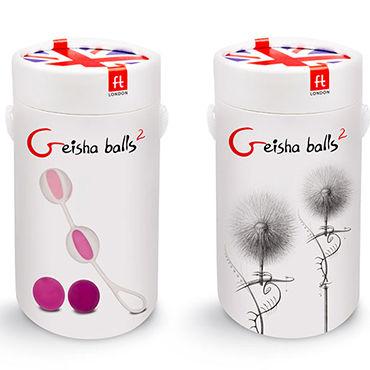 Gvibe Geisha Balls 2 Набор из 4 шариков разного веса для тренировки вагинальных мышц анальные шарики tom of finland weighted anal balls