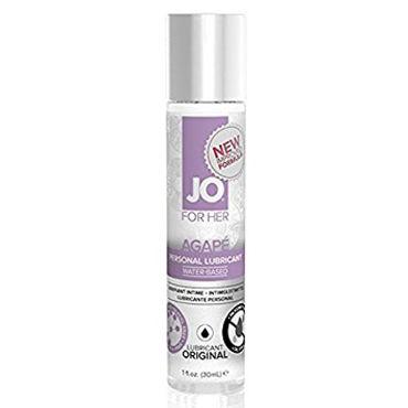 System JO Agape Women, 30 мл Женский лубрикант для очень чувствительной кожи system jo red licorice 30 мл молока