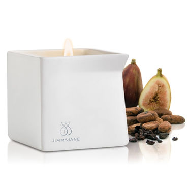 JimmyJane Afterglow Special Edition Cocoa Fig, 128г Свеча для массажа с ароматом какао jimmyjane afterglow massage candle pink lotus 125г свеча для массажа с ароматом розового лотоса