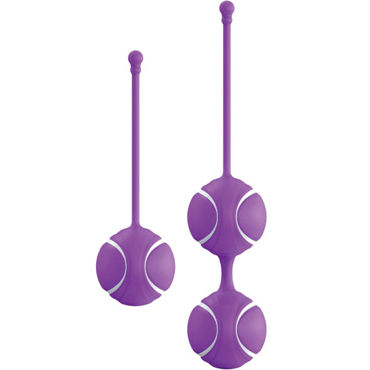 LoversPremium O-balls Set, фиолетовый Набор вагинальных шариков со смещенным центром тяжести тестер system jo organic naturalove органический лубрикант на водной основе с экстрактом ромашки