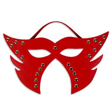 Пикантные штучки Фигурная маска С заклепками пикантные штучки набор для бдсм маска и кляп