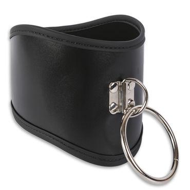Пикантные штучки Анатомический ошейник Широкий эрекционное кольцо vibrating ring со стимулятором клитора с вибрацией черное