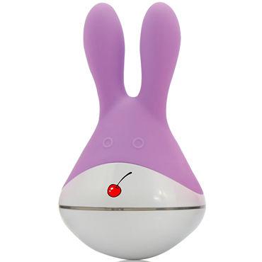 Пикантные штучки Зая, фиолетовый Клиторальный вибратор tokyo design maro kawaii 2 миниатюрный вибратор с подвижными ушками