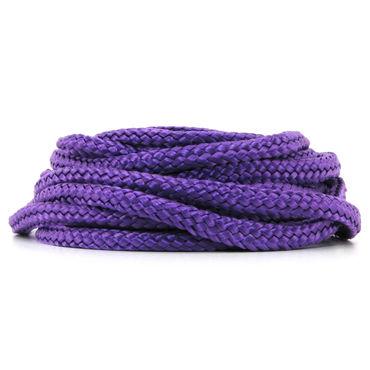 Topco Japanese Rope Bondage, фиолетовая Верёвка из японского шелка ouch silicone rope 5м фиолетовая силиконовая веревка