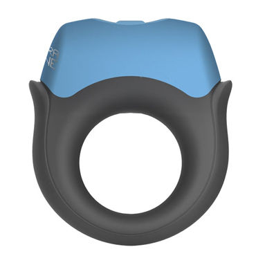 Topco Polar Night Vibrating Silicone Cock Ring Эрекционное кольцо с вибрацией q swiss navy silicone lubricant 59 vk
