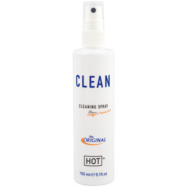 Hot Clean Cleaning Spray, 150 мл Чистящий спрей для игрушек hot naturale spray man intense 5мл