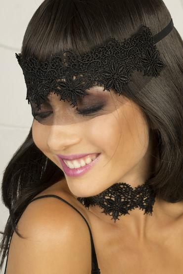 Dolce Piccante Аlbori Маска-диадема Из французского кружева маска на глаза кружевная uni