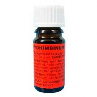 Milan Yohimbinum D4, 5 мл Возбуждающие капли на основе йохимбина с возбуждающие средства для женщин другой