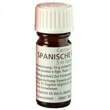 Milan Spanische Fliege, 5 мл Возбуждающие капли для двоих milan lila ekstase 28 мл согревающий и возбуждающий эффект