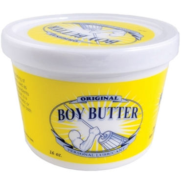 Mister B Boy Butter, 473 мл Лубрикант на основе масла system jo all in one fragrance free 120мл массажное масло и лубрикант без запаха