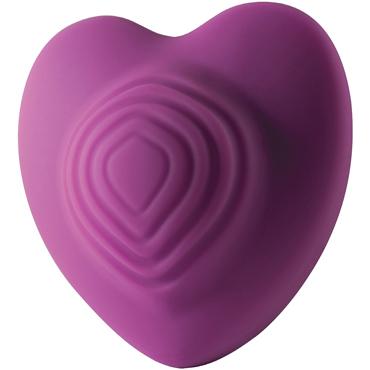 Rocks-Off Heart Throp, фиолетовый Вибромассажер в форме сердца bad kitty handcuffs with decorative studs черные