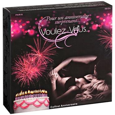Voulez-Vous... Gift Box Birthday Набор для массажа или прелюдии omysky sang baili ying tiao niu с массажем чтобы стимулировать веселье снабжает тишиной водонепроницаемой темно фиолетовой