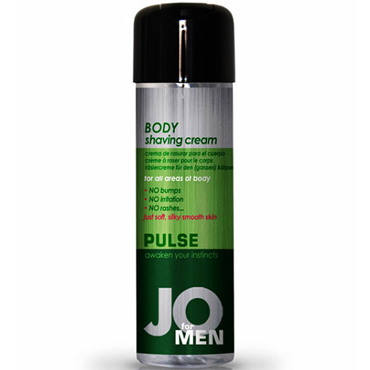 System JO Pulse Body Shaving Cream, 240 мл Мужской крем для бритья doc johnson crystal jellies small