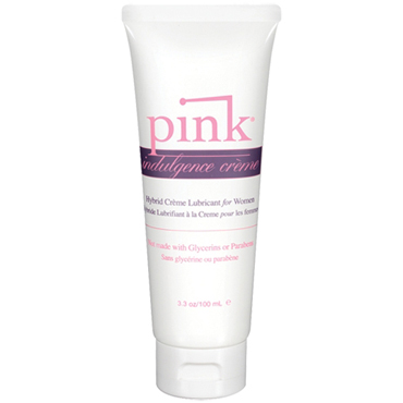 Pink Indulgence Creme, 100 мл Гибридный крем-лубрикант для женщин tenga япония импортировала мужские самолеты кубок мастурбации устройства интересные продукты чтобы стимулировать тип вращения