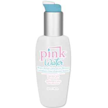 Pink Water Intimate Lubricant, 80 мл Лубрикант на водной основе для женщин крем back side creame для анального секса 50 мл