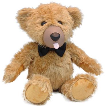 Teddy Love, коричневый Вибратор в виде медвежонка смазки усиливающие ощущения другой мир