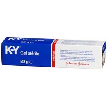 Johnson & Johnson K-Y Gel sterile, 82 гр Смазка на водной основе акссессуар для секс игр hackers sm