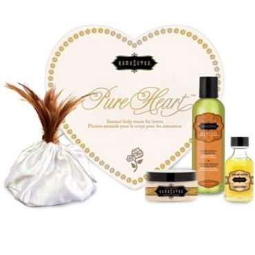 Kama Sutra Pure Heart Vanilla Kit Набор для романтического вечера