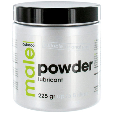 Cobeco Male Powder Lubricant, 225 гр Пудра для приготовления лубриканта гипоаллергенный силиконовый лубрикант pleasure lab 100 мл