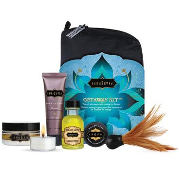 Kama Sutra Getaway Kit Набор для романтического вечера гель kama sutra pleasure balm sensations body gel мята 50 мл