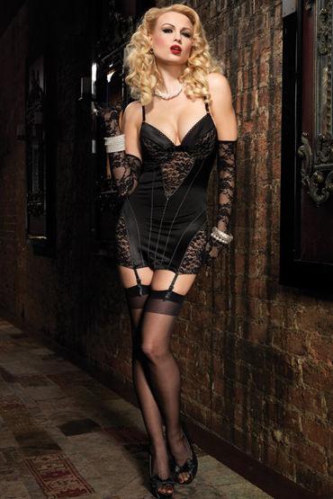 Leg Avenue мини-платье С ажурными вставками leg avenue королева зазеркалья платье с нарукавниками и короной