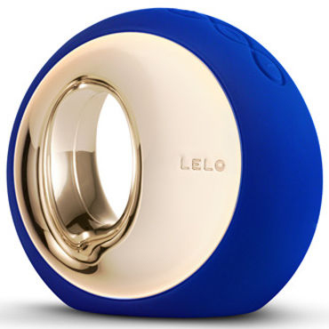 Lelo Ora, темно-синий Инновационный стимулятор, имитирующий оральные ласки lelo gigi розовый вибратор точки g со стимуляцией клитора