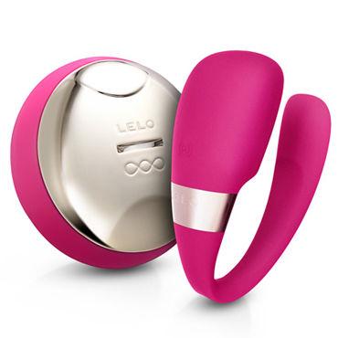 Lelo Tiani 3, розовый Усовершенствованный вибромассажер для пар, с дистанционным управлением le frivole сержант лиф юбка головной убор перчатки чулки