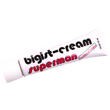 Inverma Bigist Cream Superman, 18 мл Крем для увеличения полового члена мастурбатор fleshlight nicole aniston fit
