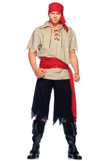 Leg Avenue Пират С поясом и повязкой на голову г съедобная косметика аромат – клубника