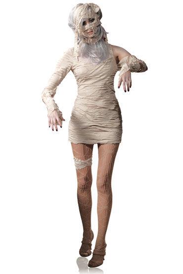 Leg Avenue Мумия С тканью для обертывания ноги и головы soft line корсет и стринги белые фото