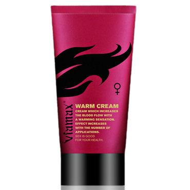 Viamax Warm Cream, 50 мл Возбуждающий крем для женщин мгновенного действия гель смазка контекс wave 30 мл увлажняющая с пантенолом