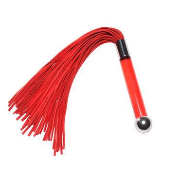 Lelo Sensua, красный Замшевая плеть для страстных игр анальный массажер sexus glass 13 5 см