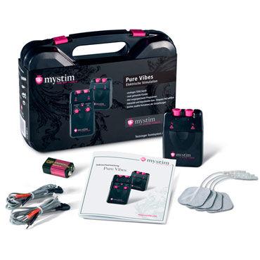 Mystim Pure Vibes Аналоговый электростимулятор lola toys emotions cutie large розовая анальная пробка с черным кристаллом