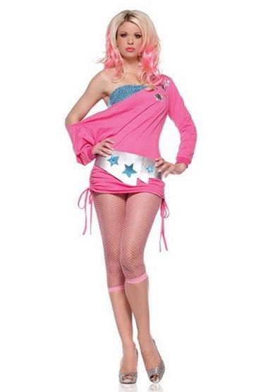 Leg Avenue платье Экстравагантный клубный наряд leg avenue far out hippie 2 в 1